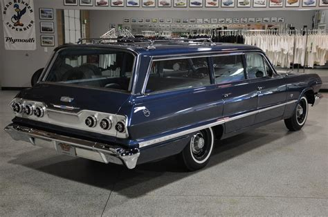 1963 Chevrolet Impala 9passenger Wagon  Red Hills Rods