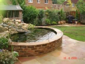 koi pond design ideas raised koi pond designs landscaping gardening ideas