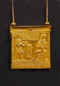 *EGYPT ~ Gold pendant ~ From the treasure of the royal ...