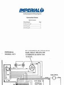 Convection Ovens  Cooking Equipment Wiring Diagrams