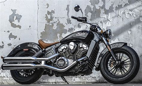 Indian Motorcycle Just Introduced The 2015 Indian Scout At