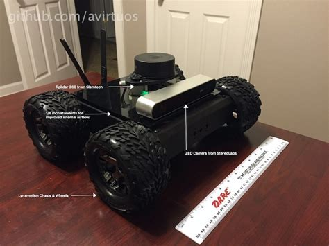 anthony virtuosos jetson tx rover project jetsonhacks