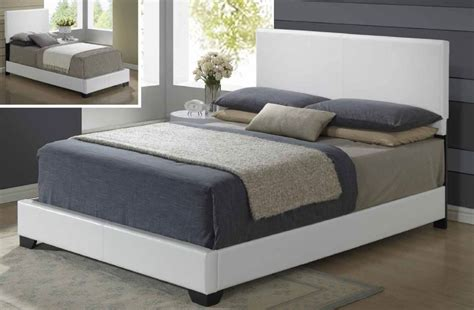 Exotic Leather High End Platform Bed Philadelphia