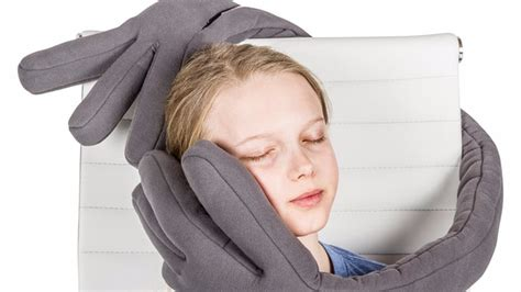 This Travel Pillow Is A Giant Pair Of Hands That Can Help