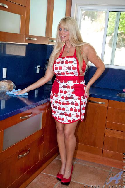 Karen Fisher Alone Mom Playing With A Toy Inside Kitchen