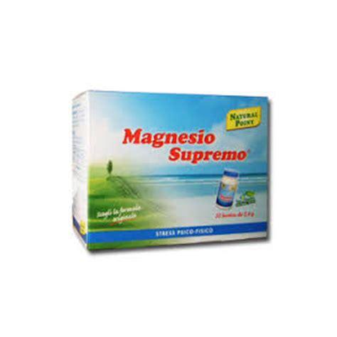magnesio supremo composizione magnesio supremo bustine point parafarmacia