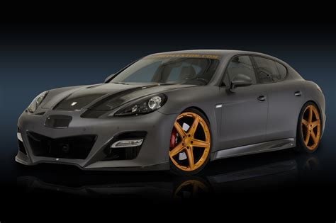 Porsche Panamera Tuning by Porsche Images No Limit Custom Porsche Panamera Turbo