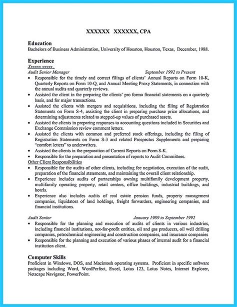 a concise credential audit resume how to write a