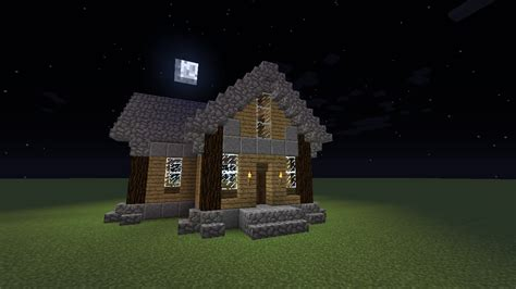 minecraft building tutorial  fashion wood house youtube