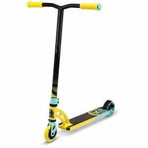 Madd Gear MGP VX6 Pro Scooter - Yellow/Teal - VX6 Pro ...