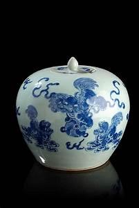 Pot A Couvert : chine pot gingembre couvert de forme ovo de en porcelaine ~ Teatrodelosmanantiales.com Idées de Décoration