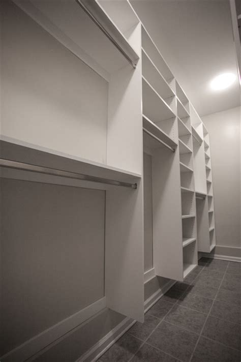 Narrow Walk In Closet by Narrow Room Walking Closet Contemporary Closet