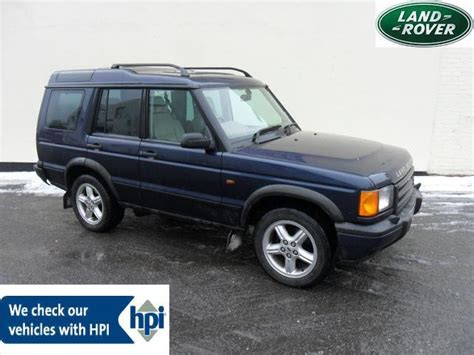 blue land rover discovery used 2001 land rover discovery 4x4 blue edition 2 5 td5 es