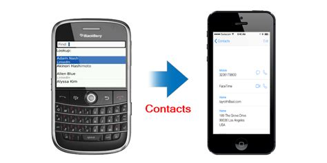 transfer contacts from iphone to iphone how to transfer contacts from blackberry to iphone leawo