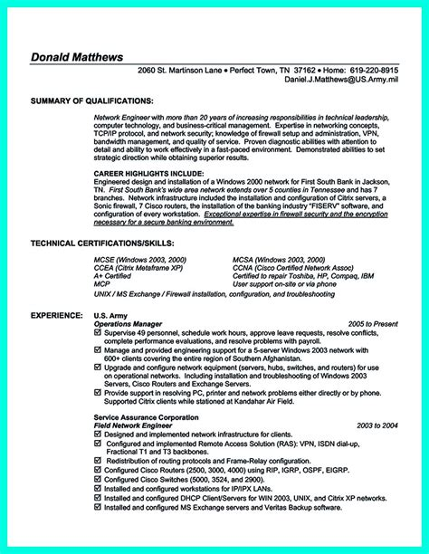 Resume For It by The Computer Engineering Resume Sle To Get Soon