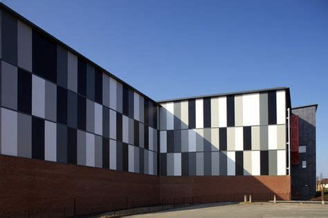 car park industrial kingspan insulated panels architectural wall panel micro rib panel