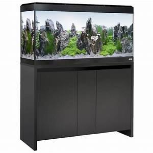 Aquarium Set Led : fluval roma 200 led aquarium cabinet set black ~ Watch28wear.com Haus und Dekorationen