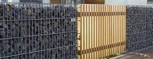 Gabionen Als Sichtschutz : gabionen kaufen und fachgerecht montieren lassen zaunteam ~ Buech-reservation.com Haus und Dekorationen