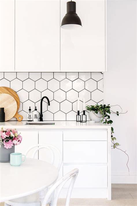hexagon tile kitchen 36 eye catchy hexagon tile ideas for kitchens digsdigs
