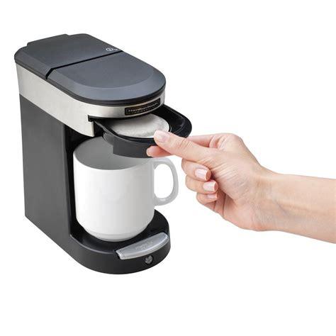 Chulux single serve coffee maker 9. Hamilton Beach HDC200S Stainless Steel Single Serving Pod Coffee Maker - 120V, 500W