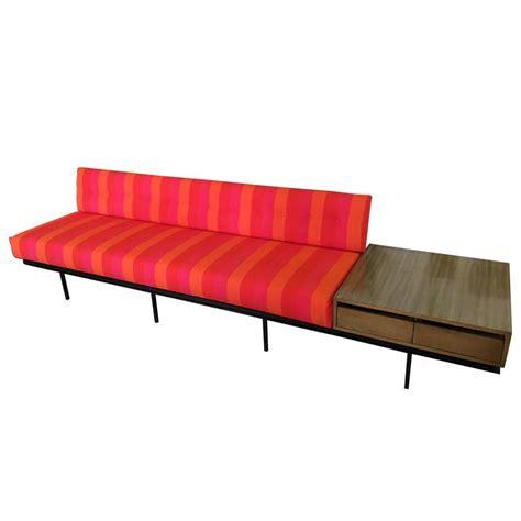 florence knoll sofa vintage florence knoll sofa with vintage alexander girard stripe