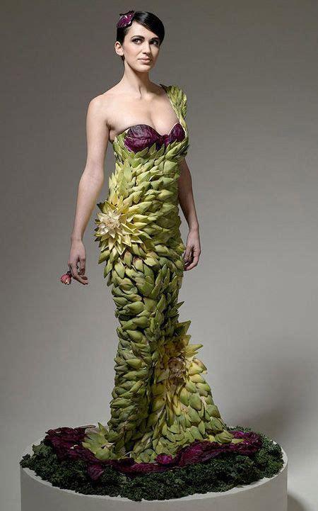 vegetable dresses  creative dress   vegetable