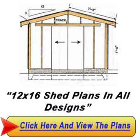 10 X 16 Shed Plans Free by Shed Plans 10 X 16 Construct Your Personal Shed With