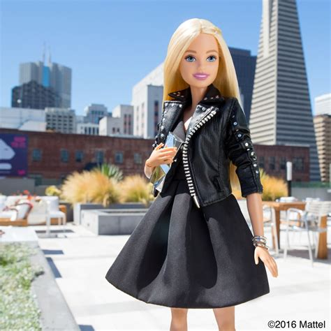 Barbie Dons Cute Outfits Snaps Selfies Around San