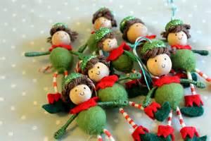 sillylab designs elf ornaments