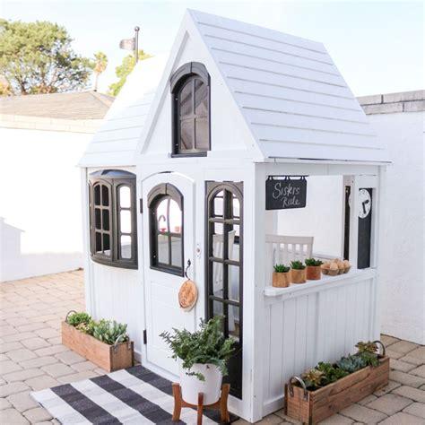backyard playhouse plans  kids