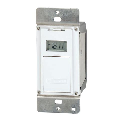 bathroom fan timer switch home depot intermatic 4 amp in wall astro digital timer ej500 the