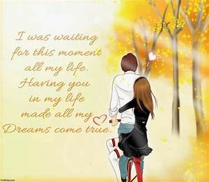 Photos: Cartoon Couple Pic With Quotes, - DRAWING ART GALLERY