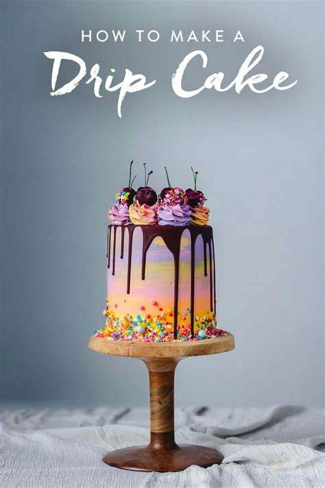 life hacks      magical drip cake