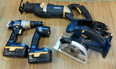 rona  pce power tools set west shore langfordcolwood