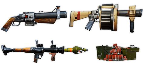 Cool Guns & Schematics! Fortniteinfo