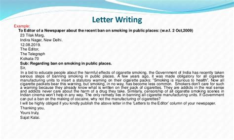 cbse  tbse writing section rules  examples