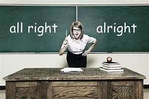 Mean Ol' Schoolmarm – All right or Alright? | The Pioneer ...