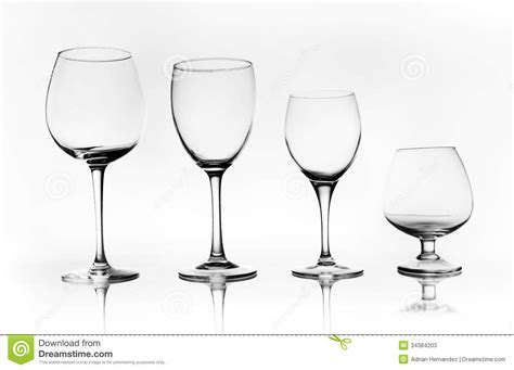 Different Types Of Glass Cups Stock Photos   Image: 34384203