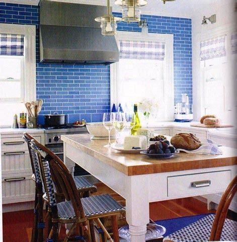 country kitchens images kitchen color inspiration cobalt blue tiles kitchen 2934