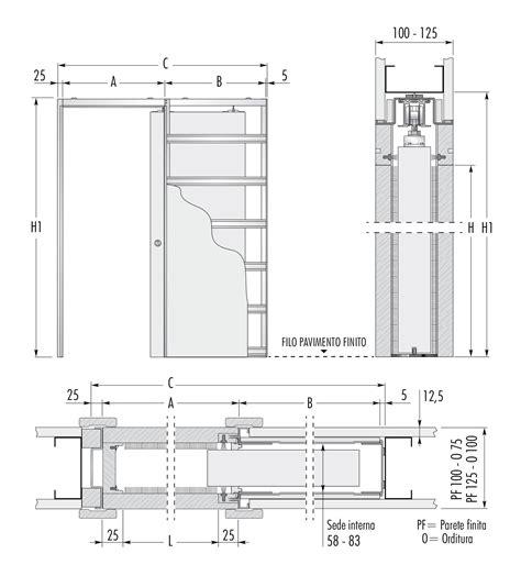 Misure Porta Scorrevole by Porte Scorrevoli Eclisse Dimensioni