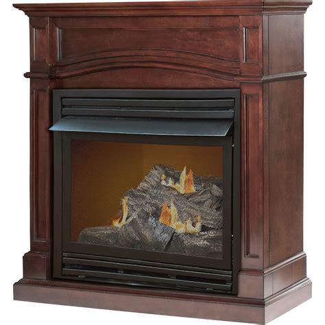 Pleasant Hearth Dual Fuel Ventfree Fireplace — 32,000 Btu
