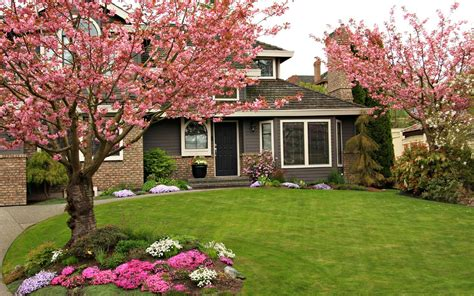 The Front Yard : Curb Appeal Landscaping Ideas For A House With Flat Roof