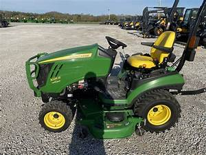 2014 John Deere 1025r - Compact Utility Tractors