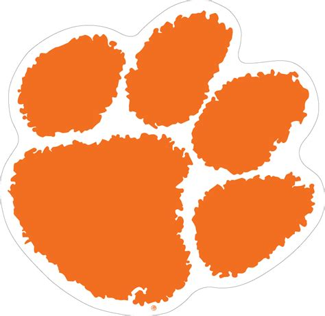 tips to sell home 12 quot clemson paw vinyl decal wesellspirit com