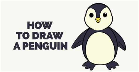 Here, we look at how to draw a penguin for kids and provide you some information that you can share with. How to Draw a Penguin in a Few Easy Steps | Easy Drawing ...