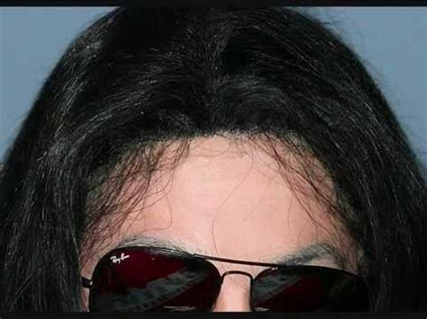 hair loss front of head close up of michael jackson 39 s wig youtube