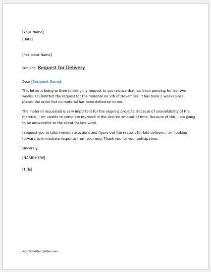 Thank You Letter For Prompt Response Image Collections