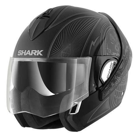 casque shark evoline casque shark evoline serie 3 st mezcal mat casque modulable motoblouz