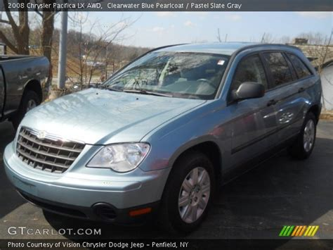 2008 Chrysler Pacifica Lx by Clearwater Blue Pearlcoat 2008 Chrysler Pacifica Lx Awd