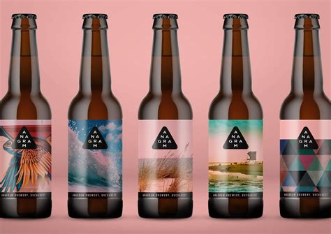 anagram brewery  packaging   world creative